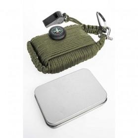 Kit Perlengkapan Camping Survival Kit Lengkap - Green - 2