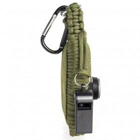 Kit Perlengkapan Camping Survival Kit Lengkap - Green - 3