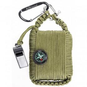 Kit Perlengkapan Camping Survival Kit Lengkap - Green - 5