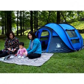 HUI LINGYANG Tenda Camping Windproof Waterproof - S-T414 - Blue - 2