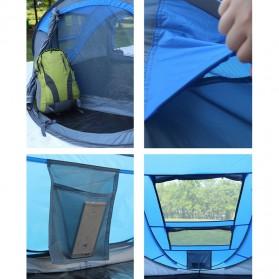 HUI LINGYANG Tenda Camping Windproof Waterproof - S-T414 - Blue - 4