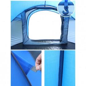 HUI LINGYANG Tenda Camping Windproof Waterproof - S-T414 - Blue - 5