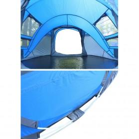 HUI LINGYANG Tenda Camping Windproof Waterproof - S-T414 - Blue - 6