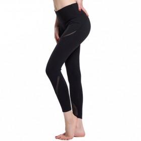 Legging Olahraga Gym Yoga Wanita Size L - Black - 3