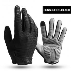 CoolChange Sarung Tangan Sepeda Shockproof - Size XL - Black