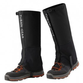 Tuban Gear Cover Betis Kaki Sepatu SKI Hiking Climbing Size XL - Black - 1