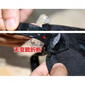 Tuban Gear Cover Betis Kaki Sepatu SKI Hiking Climbing Size XL - Black - 3