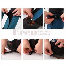 Tuban Gear Cover Betis Kaki Sepatu SKI Hiking Climbing Size XL - Black - 5