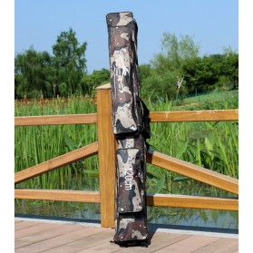 Sougayilang Tas Pancing Portable Rod Fishing Bag 120CM - PJ74 - Camouflage