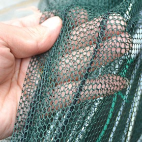 Jaring Pancing Ikan Hexagonal 8 Hole Fishing Net Trap Cage - 7