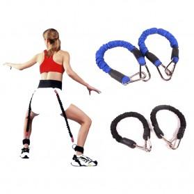 Tali Resistance Band Fitness Basket Endurance Training Tool - Black - 3