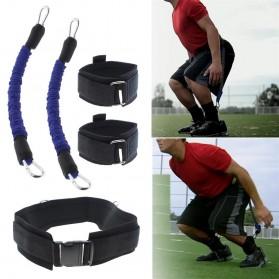 Tali Resistance Band Fitness Basket Endurance Training Tool - Black - 5