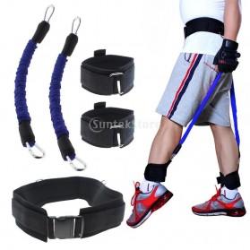 Tali Resistance Band Fitness Basket Endurance Training Tool - Black - 6