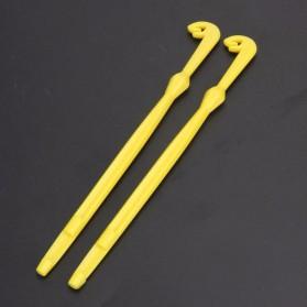 Pengikat Kail Pancing Fast Nail Knot Tying Fishing Tool - Yellow