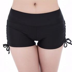 Celana Pendek Short Sport Gym Fitness Yoga Wanita Size M - Black