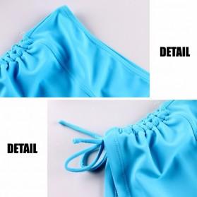 Celana Pendek Short Sport Gym Fitness Yoga Wanita Size M - Black - 3