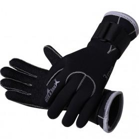 Dive & Sail Sarung Tangan Diving Swimming Anti Slip - Size L - Black