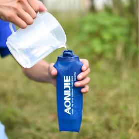 Botol Minum Lipat Camping Mountaineering Drinking Water Bag 250ml - Blue - 2