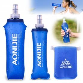 Botol Minum Lipat Camping Mountaineering Drinking Water Bag 250ml - Blue - 4