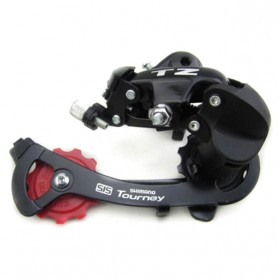 Shimano ZT50 SIS Tourney 6-7 Speed Rear Derailleur - Hook Dial (OEM) - Black