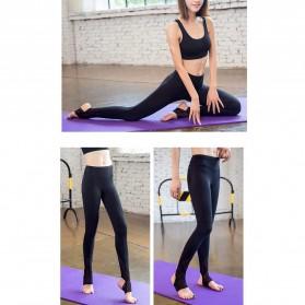 Celana Legging Gym Fitness Yoga Wanita - Size M - Black - 4