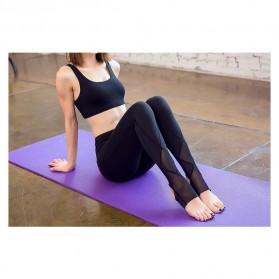 Celana Legging Gym Fitness Yoga Wanita - Size M - Black - 6