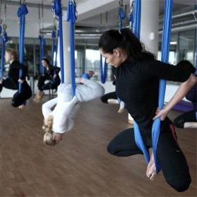 Anti Gravity Swing Yoga Hammock 5M - Blue - 5
