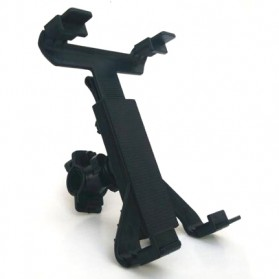 Universal Tablet Holder Sepeda 7-10 Inch - Black