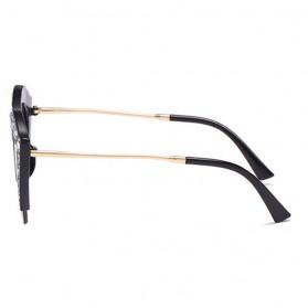 Kacamata Wanita Model Cat Eye Anti UV - Black - 4