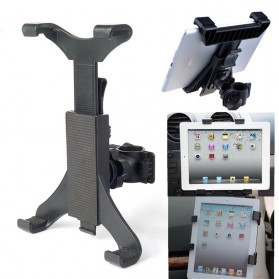 Universal Tablet Holder Sepeda 7-11 Inch - Black