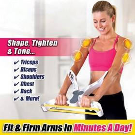 Alat Fitness Grip Tangan Bahu Biceps Triceps Forearm Strength - White - 3