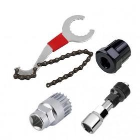 TaffSPORT 3 in 1 Repair Kit Rantai Sepeda - BT2919 - Silver