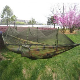 AstaGear Hammock Parasut Ultralight dengan Net Anti Nyamuk - DS001 - Camouflage - 1