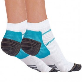 Kaos Kaki Anti Fatigue Plantar Compression Socks - Blue