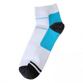 Kaos Kaki Anti Fatigue Plantar Compression Socks - Blue - 3
