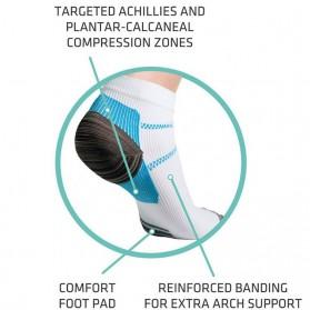 Kaos Kaki Anti Fatigue Plantar Compression Socks - Blue - 4