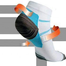 Kaos Kaki Anti Fatigue Plantar Compression Socks - Blue - 5