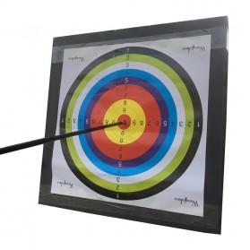 Face Target Papan Sasaran Panah Archery - Black