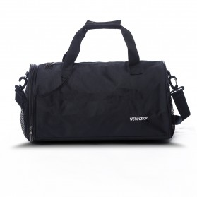 Tas Gym Fitness Duffel Bag - FL0011 - Black