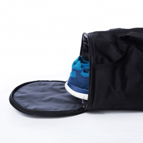 Tas Gym Fitness Duffel Bag - FL0011 - Black - 5