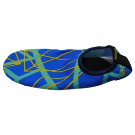 YOUYEDIAN Sepatu Diving Pantai Yoga Anti Slip Shoes Size M - C01078 - Blue