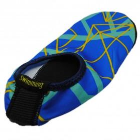 YOUYEDIAN Sepatu Diving Pantai Yoga Anti Slip Shoes Size M - C01078 - Blue - 2