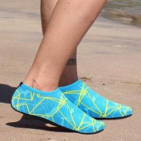 YOUYEDIAN Sepatu Diving Pantai Yoga Anti Slip Shoes Size M - C01078 - Blue - 3