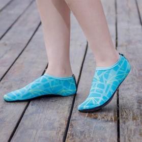 YOUYEDIAN Sepatu Diving Pantai Yoga Anti Slip Shoes Size M - C01078 - Blue - 5