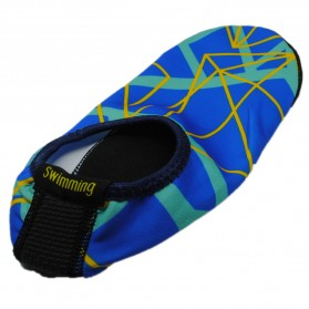 YOUYEDIAN Sepatu Diving Pantai Yoga Anti Slip Shoes Size XL - C01078 - Blue - 2