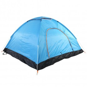 Tenda Camping Outdoor Automatic Speed Open 3-4 Orang - ZP327501 - Blue