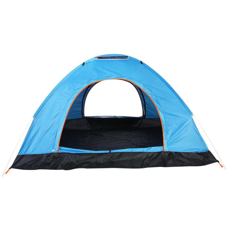 Tenda Camping Outdoor Automatic Speed Open 3 4 Orang ZP Blue JakartaNotebook