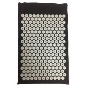 Matras Yoga ABS Spike Akupuntur Needle Pad Massage Cushion - Black
