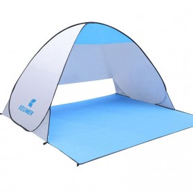 Keumer Tenda Camping Automatic Open Anti UV Shelter - Gray