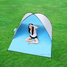 Keumer Tenda Camping Automatic Open Anti UV Shelter - ZP03 - Gray - 4
